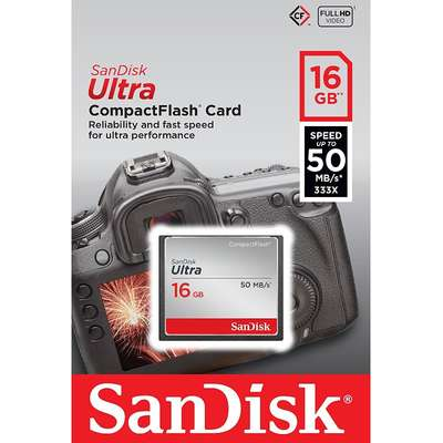 Card de Memorie SanDisk CompactFlash Ultra 333x 16GB 50 MB/s
