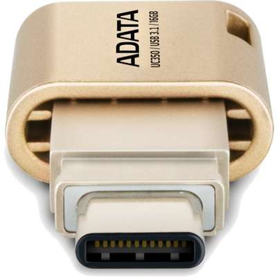 Memorie USB ADATA DashDrive UC350 16GB USB 3.0 Gold