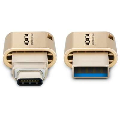Memorie USB ADATA DashDrive UC350 32GB USB 3.0 Gold