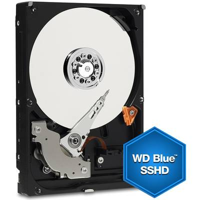 Hard Disk Laptop WD Blue SSHD, 1TB, SATA-III, 5400 RPM, cache 64MB, 9.5 mm