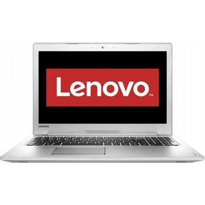 "Laptop Lenovo 15.6"" IdeaPad 510, FHD IPS, Procesor Intel Core i7-6500U (4M Cache, up to 3.10 GHz), 8GB DDR4, 500GB, GeForce 940MX 4GB, FreeDos, White"