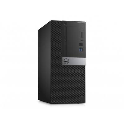 Sistem desktop Dell OptiPlex 3040 MT, Procesor Intel® Core™ i3-6100 3.7GHz Skylake, 4GB DDR3, 500GB HDD, GMA HD 530, Linux, 3Yr NBD