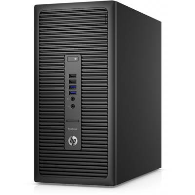 Sistem desktop HP ProDesk 600 G2 MT, Procesor Intel Core i5-6500 3.2GHz Skylake, 4GB DDR4, 500GB HDD, GMA HD 530, Win 10