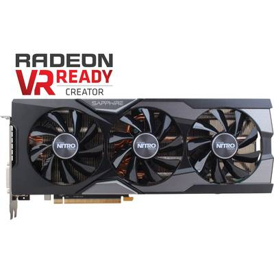 Placa Video SAPPHIRE Radeon R9 FURY OC 4GB HBM 4096-bit backplate