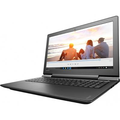 "Laptop Lenovo Gaming 15.6"" IdeaPad 700, FHD IPS, Procesor Intel Core i7-6700HQ (6M Cache, up to 3.50 GHz), 8GB DDR4, 500GB + 256GB SSD, GeForce GTX 950M 4GB, FreeDos, Black"