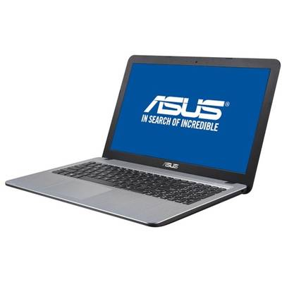 "Laptop Asus 15.6"" X540SA, HD, Procesor Intel Celeron Dual Core N3060 (2M Cache, up to 2.48 GHz), 4GB, 500GB, GMA HD 400, FreeDos, Silver"