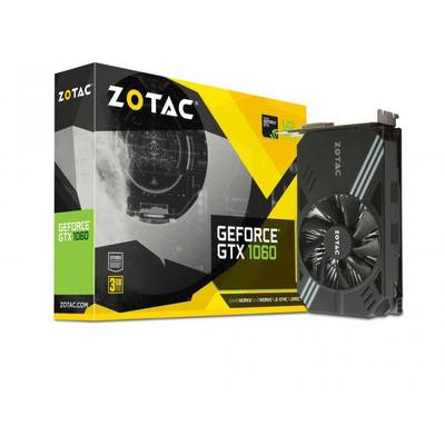 Placa Video ZOTAC GeForce GTX 1060 Mini 3GB DDR5 192-bit