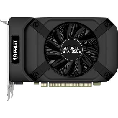 Placa Video Palit GeForce GTX 1050 Ti StormX 4GB DDR5 128-bit
