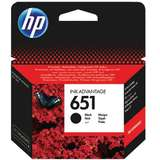 Cartus HP BLACK NR.651 C2P10AE ORIGINAL , DESKJET 5575 AIO