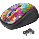 Mouse de notebook TRUST YVI Flower Power