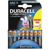 Baterie Duracell Turbo Max AAA LR03 8buc