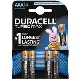 Baterie Duracell Turbo Max AAA LR03 4buc