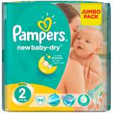 Scutece Pampers New Baby 2 Mini Jumbo Pack 94 buc