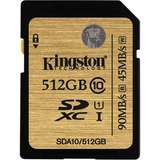Card de Memorie Kingston SDXC Premier 512GB UHS-I Clasa 10
