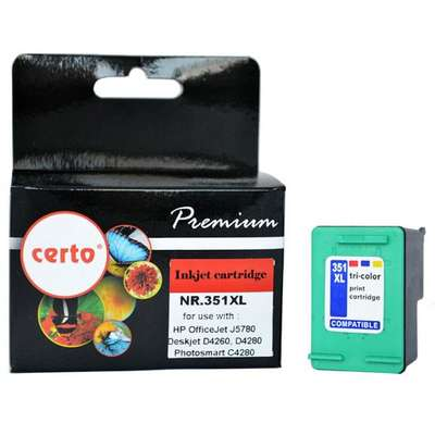 Cartus  CERTO COLOR NR.351XL CB338EE HP OFFICEJET J5780
