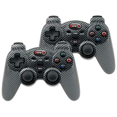 Gamepad dreamGEAR Type 6 Wireless Twin Pack DGPS3-1325