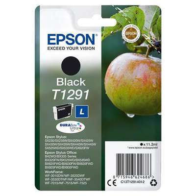 Cartus EPSON T1291 BLACK INKJET CARTRIDGE