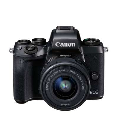 Aparat foto compact Canon CAMERA FOTO EOS M5 KIT EF-M 15-45 IS STM