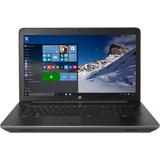 "17.3"" ZBook 17 G3, HD+, Procesor Intel Core i7-6700HQ (6M Cache, up to 3.50 GHz), 8GB, 500GB 7200RPM, Quadro M1000M 2GB, FingerPrint Reader, Win 7 Pro + Win 10 Pro"