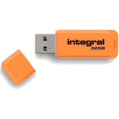 Memorie USB Integral Neon Orange 32GB USB 2.0