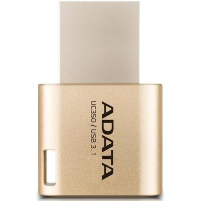 Memorie USB ADATA DashDrive UC350 64GB USB 3.0 Gold
