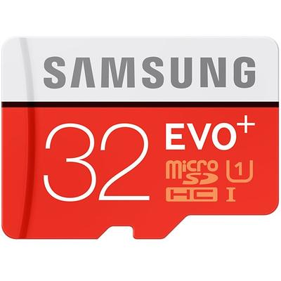 Card de Memorie Samsung Micro SDHC EVO Plus UHS-I Class 10 32GB + Adaptor SD
