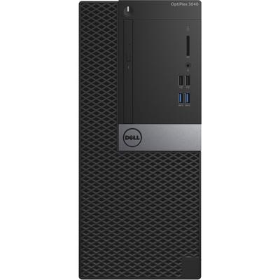 Sistem desktop Dell OptiPlex 3040 MT, Procesor Intel® Core i3-6100 3.7GHz Skylake, 4GB DDR3, 500GB HDD, GMA HD 530, Linux, 3Yr NBD