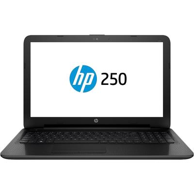 Laptop HP 15.6 250 G5, HD, Procesor Intel Pentium Quad Core N3710 (2M Cache, up to 2.56 GHz), 4GB, 500GB, GMA HD 405, FreeDos, 3-cell, Black, Geanta inclusa