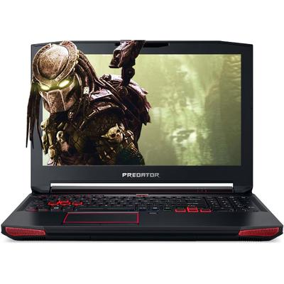 Laptop Acer Gaming 15.6 Predator G9-593, FHD IPS, Procesor Intel Core i7-6700HQ (6M Cache, up to 3.50 GHz), 8GB DDR4, 256GB SSD, GeForce GTX 1070 8GB, Linux, Black