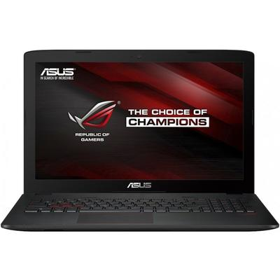Laptop Asus Gaming 15.6 ROG GL552VX, FHD, Procesor Intel Core i7-6700HQ (6M Cache, up to 3.50 GHz), 16GB DDR4, 1TB 7200 RPM, GeForce GTX 950M 4GB, FreeDos, Grey, versiunea metalica