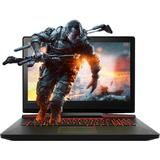 Gaming 17.3 inch, IdeaPad Y910, FHD IPS, Procesor Intel Core i7-6820HK (8M Cache, up to 3.60 GHz), 32GB DDR4, 1TB + 1TB SSD (2x 512GB), GeForce GTX 1070 8GB, Win 10 Home, Black, External ODD