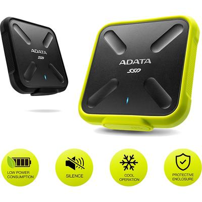 SSD ADATA SD700 512GB USB 3.1 Yellow