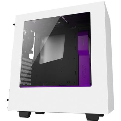 Carcasa NZXT Source 340 white-purple