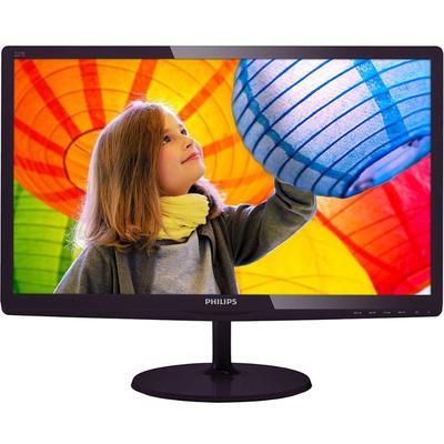 Monitor Philips 227E6LDAD 21.5 inch 2 ms Black Cherry