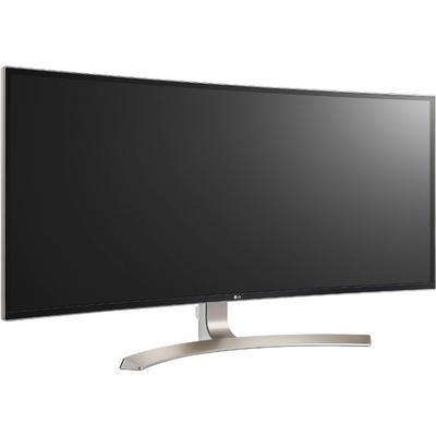 Monitor LG 38UC99-W Curbat 37.5 inch WQHD+ 5 ms White FreeSync 75Hz