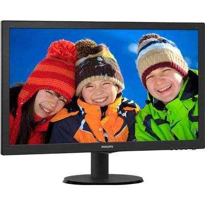 Monitor Philips 243V5LHAB5/00 23.6 inch 5 ms Black