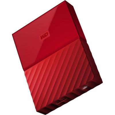 Hard Disk Extern WD My Passport New 2TB Red USB 3.0