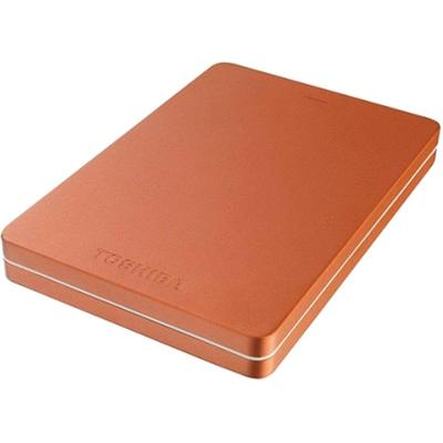 Hard Disk Extern Toshiba Canvio ALU, USB 3.0, 2.5 inch, 500GB, red