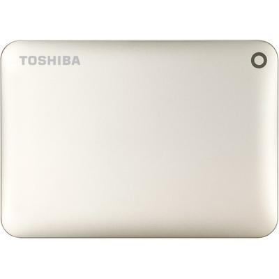 Hard Disk Extern Toshiba Canvio Connect II, USB 3.0, 2.5 inch, 2TB, gold