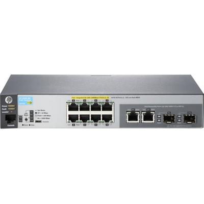 Switch HP SW 2530 8P GB 2DUAL-P POE+