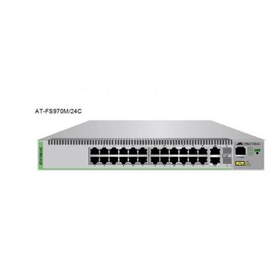 Switch ALLIED TELESIS ATI SW 24P FE L2 MANAGED