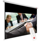Avtek Business Electric 200 (projection area 195x122cm; 16:10; Matt-White; black borders)