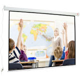 Ecran de proiectie Avtek Wall Electric 240 (projection area 240x180cm; 4:3; Matt-White; black borders)