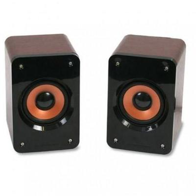Boxe OMEGA SPEAKERS 2.0 OG-11W WOOD 5W BROWN