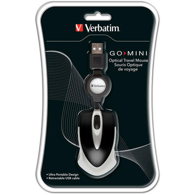 Mouse Verbatim  OPTICAL MINI MOUSE BLACK