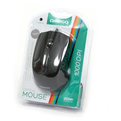 Mouse Omega MOUSE OM-05BL 3D OPTICAL 1000DPI VALUE LINE USB MIX