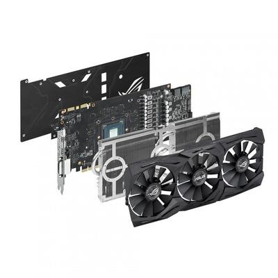 Placa Video Asus VGA AS GTX1070 8GB STRIXGTX1070O8GGAM