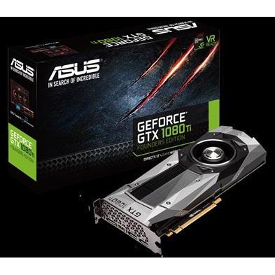 Placa Video Asus VGA AS GTX1080 11GB GTX1080TI-FE