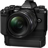 Aparat foto compact OLYMPUS E-M5II 1240 Kit blk/blk + HLD-8 Power Battery Holder + BLN-1 Battery