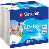 Verbatim  CD-R AZO 52X 700MB  WIDE PRINTABLE SURFACE